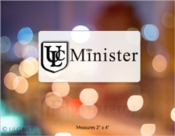 Removable ULC Minister Window Cling