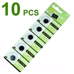 10 pcs CR1220 3v Lithium batteries