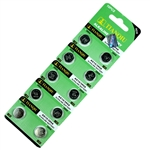 10 PCS LR1130/AG10/389 1.5V Batteries