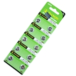 10 PCS LR57/AG7/395/LR927 Batteries