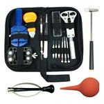 13pc watch repair tool kit w/hand remover, blower