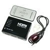 5:1 HDMI Switcher with Remote Control