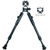 "8""-10"" bipod with barrel mount"