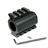Low Profile Gas Block w/ Top & Bottom Picatinny Rail & Roll Pin for .750 Barrel