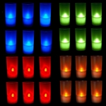 6 PCS LED Candles w/ Holders
