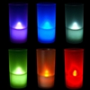 6 pcs color changing LED candles w/ holders