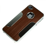 iPhone 4/S Stainless Steel Hardcover