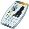 Black Car Auto DC Charger for iPhone 5 8-Pin Fast Rapid w/ Coiled cord LED Apple