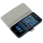iPhone 5 Leather Flip Cover