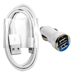 Charging / Sync Kits - Cord + Car Charger for iPhone 6 5s 5 5c
