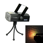 Red & Green Laser Projector Stage Lighting Auto / Music Modes for DJ Party Club