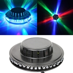 48 LEDs RGB Rotating Stage Lighting Bar Party DJ Light Effects Activated (Black)