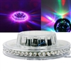 48 LEDs RGB Rotating Stage Lighting Bar Party DJ Light Effects Activated (Clear)