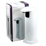 Automatic Hands Free Stainless Steel IR Sensor Soap Dispenser White or Chrome