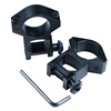 "2 Pcs 1"" Scope Ring Picatinny Weaver High Profile Rail Laser Flashlight Mount"