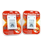 2 Riddex Plus Pest Repellent for Rodents, Roaches, Ants, Spiders. As Seen on TV