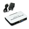 VGA to HDMI Full HD 1080P Video Audio Converter Adapter Box for Laptop PC DVD