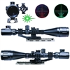 6-24X50 AOEG Hunting Rifle Scope Dual illuminated Reticle with Green Laser Sight