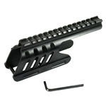 Tactical Side Saddle Optics Rail Mount for Remington 870 12 GA Shotgun