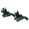 Front and Rear 45 Degree Offset Rapid Transition Backup Iron Sight Set
