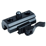QR Harris Style Bipod Adapter to Weaver and Picatinny Rail Quick Release