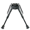 "6"" to 9"" Adjustable Swivel / Rotating Spring Return Rifle Bipod w/ Notched Legs"