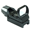 Tactical Holographic Reflex Red Green Dot Sight 4 Type Reticle for 20mm Rails (2 Colors)
