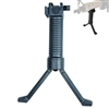 Tactical Rifle Foldable Foregrip Bipod Insert Legs w/ side 20mm Picatinny Rail