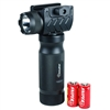 Tactical Vertical Foregrip w/ High Power CREE LED Flashlight & 20mm Rail Mount