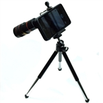 8X Zoom Telescope Camera Lens + Tripod + Case for iPhone 5