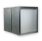 Aluminum Screen with 158 White Mesh - 20x24in (12 Bundle)