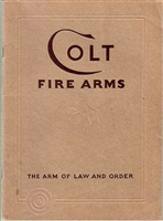 Colt Firearms. Sales Catalogue Jan 1932