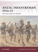 ANZAC Infantryman 1914-15 : From New Guinea to Gallipoli. Sumner.