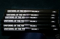 Uniforms of the SS, Volumes 1-6. Mollo.