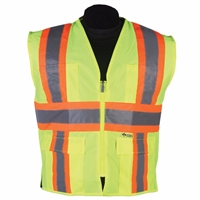 2W International Contrast High Viz Vest