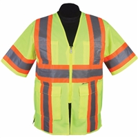 2W International 7138C-3/7148C-3 Contrast High Viz Vest