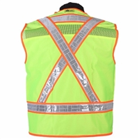 2W International 8038GC-2/8048OC-2 Oralite High Viz Vest