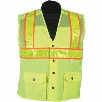 2W International 8138MC-2/8148YMC-2 Oralite High Viz Vest
