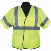 2W International EN333C-3/EN533C-3 Light Weight Safety Vest
