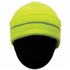 2W International KCO-11R/KCL-12R High Viz Knitted Cap