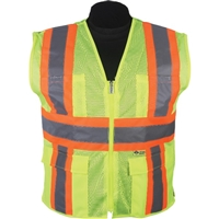 2W International M7038C/M7048C Hi Viz Vest