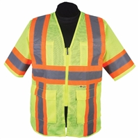 2W International M7138C-3/M7148C-3 Contrast High Viz Vest