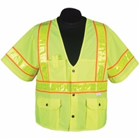 2W International S8138C-3/ S8148C-3 Premium Oralite High Viz Vest