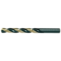 Alfa Tools Premium Black Oxide & Gold Finish Jobber Drills