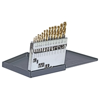 Alfa Tools Tin Tipped Heavy Duty Jobber Drill Set