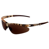 Bullhead Stinger Safety Glasses, Woodland Camo Frame