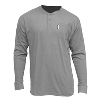 CPA 610-FRC-HEN Henley Long Sleeve T-Shirt