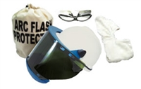 CPA SW-WVCK-SL Arc Face Shield Kit W/ Bag, Hood, Safety Glasses