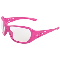 ERB 17954 Gray Rose Girl Power At Work Safety Glasses - Gray