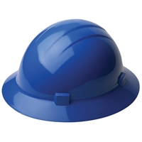 ERB American Suspension Slide-Lock Adjustment, Full Brim Hard Hat
